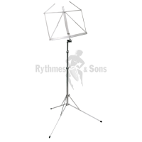 KOENIG & MEYER (K&M) Nickel-plated Compact Music Stand