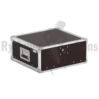 Flight-case - Rack 19' OpenRoad® 4U prof. 420mm