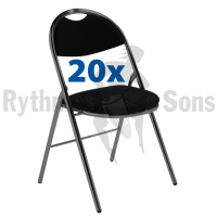 Set of 20 'Agil' Folding Chair