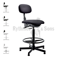 RYTHMES & SONS Multi setting Orchestra Chair, squared seat