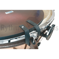 Foam-covered protection disc for 20' Adams timpani