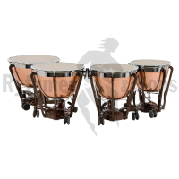Set of 4 ADAMS 23'+26'+29'+32' Professional Generation II Parabolic Copper hammered timpani