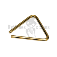 GROVER gilded bronze triangle 12cm