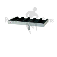 RYTHMES & SONS trap table with compartments for mallets