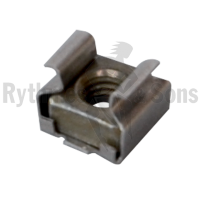 Captive nuts M6 for square fixing holes