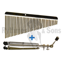 Bar chimes SONOR 36 barres laiton avec stand
