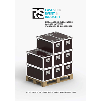 Reusable crates & shuttle cases for industry