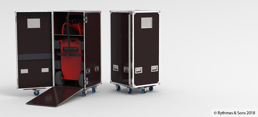 Flight case for DCBS